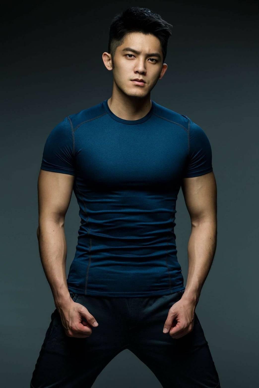 林冠宇曾是健身教練。圖/賢叔輯娛樂提供