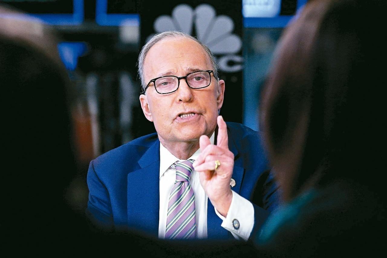 白宮14日宣布,將由70歲的電視名嘴柯德洛接任國家經濟會議主席。 路透