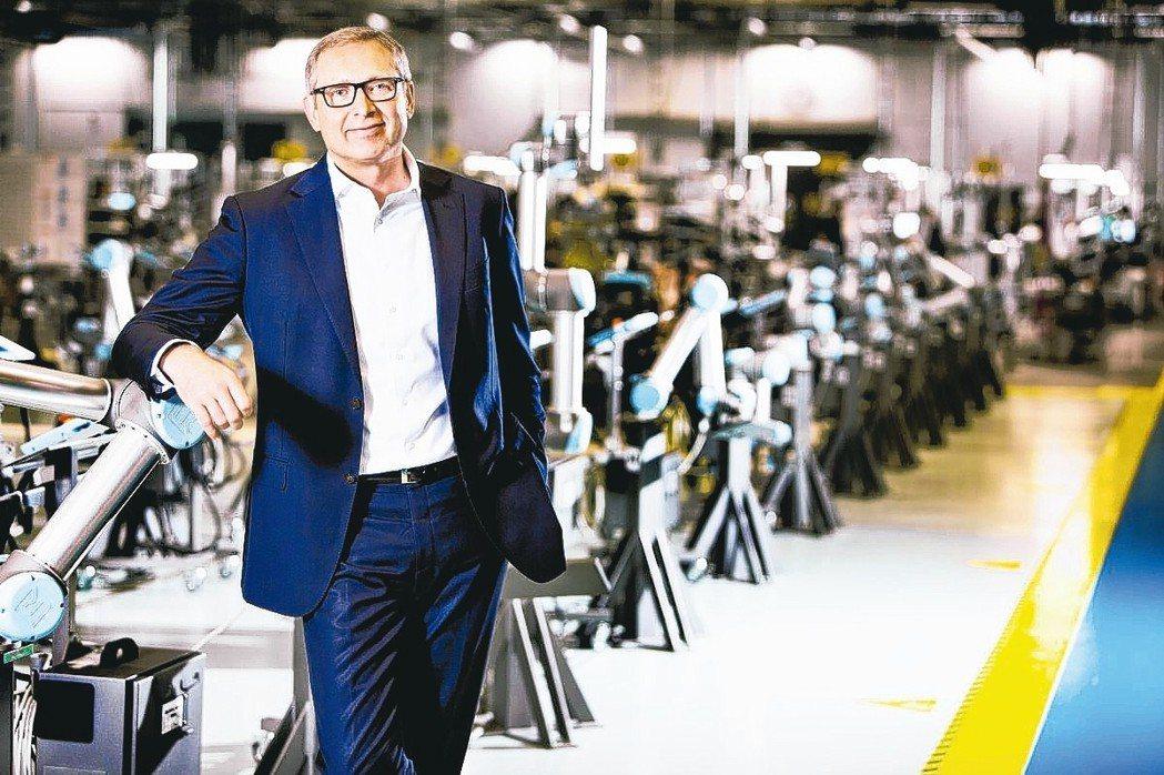 Universal Robots總裁Jürgen von Hollen表示,20...