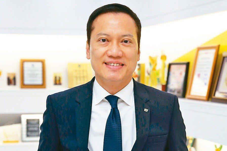 安永聯合會計師事務所執行長傅文芳。 記者曾吉松/攝影