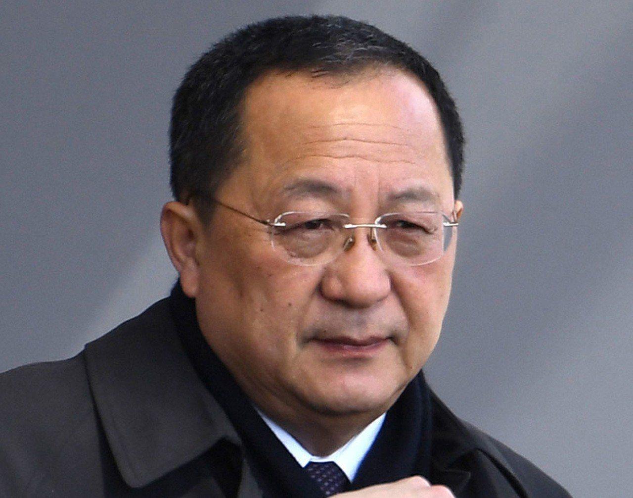 川習會後,北韓外交部長李勇浩(圖)將於6至8日訪問中國大陸。 美聯社