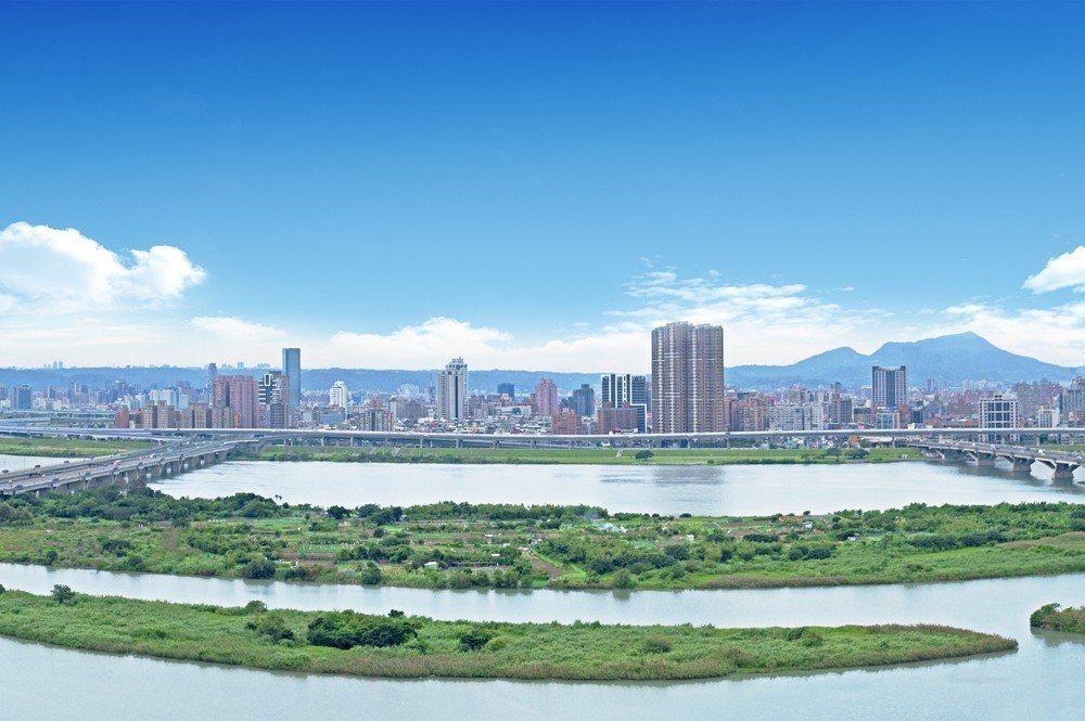 圖四:岳泰豐鼎可享河岸景觀。
