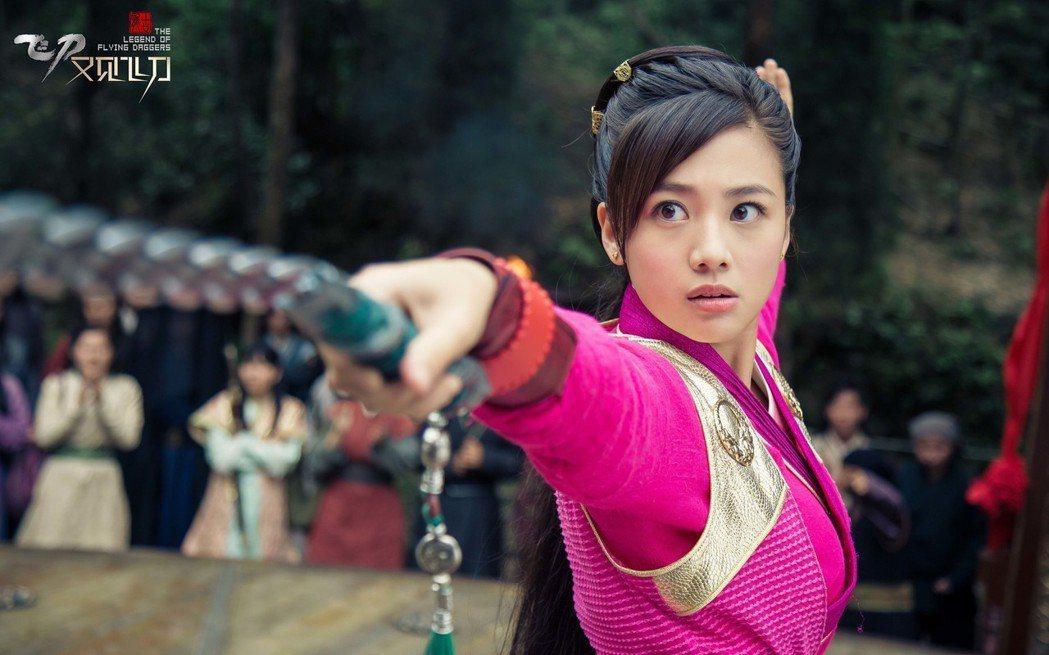 鬼鬼在劇中有許多精彩武打戲。圖/鑫盛傳媒提供