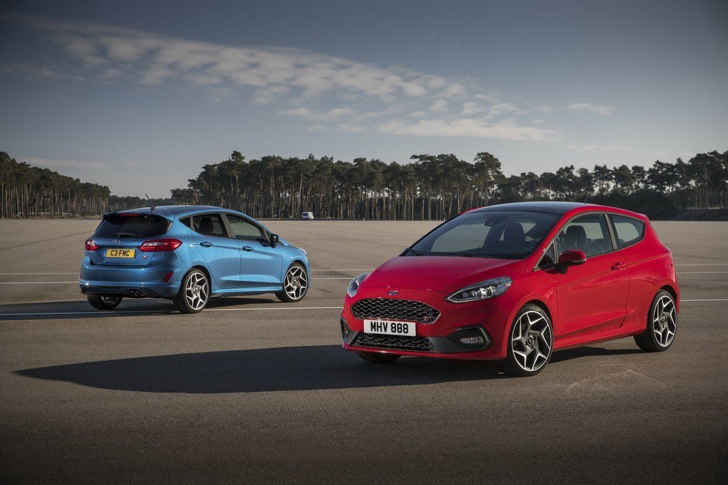 All-new Ford Fiesta ST。 摘自Ford