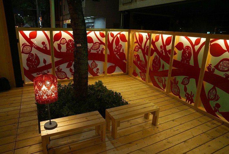 台北燈節「家」,人人都是家中最重要的風景。圖/楊士毅提供