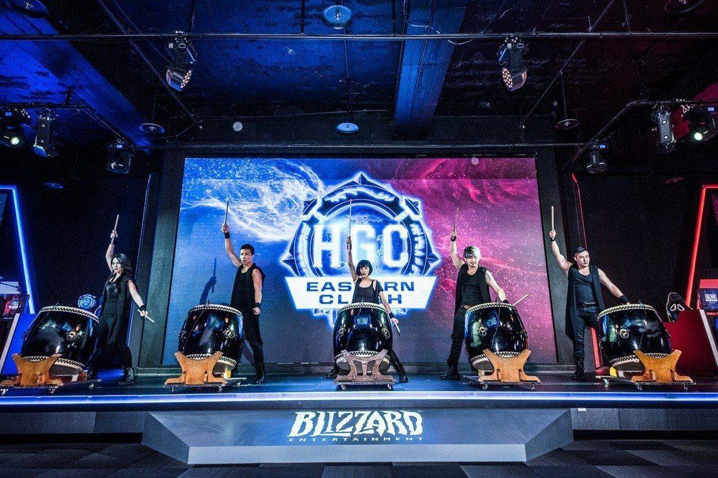 《暴雪英霸®》HGC 全球冠軍賽-亞太對決今日登場,以氣勢磅礡的戰鼓揭開對戰序幕