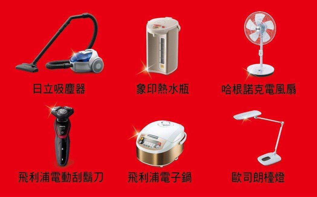 即日起至4月30日止,購買日立冷氣變頻式、分離式乙組或窗型冷氣乙台,就送好禮六選...
