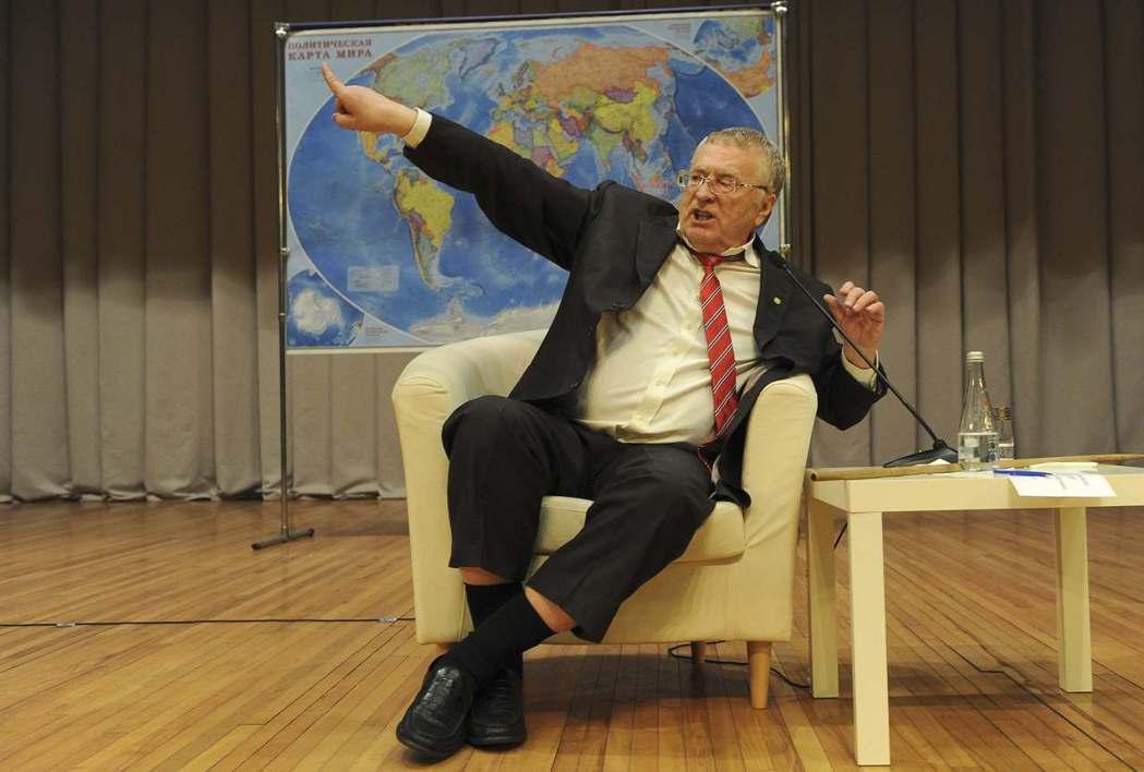 吉里諾夫斯基是俄國總統選舉的常客。 (路透)