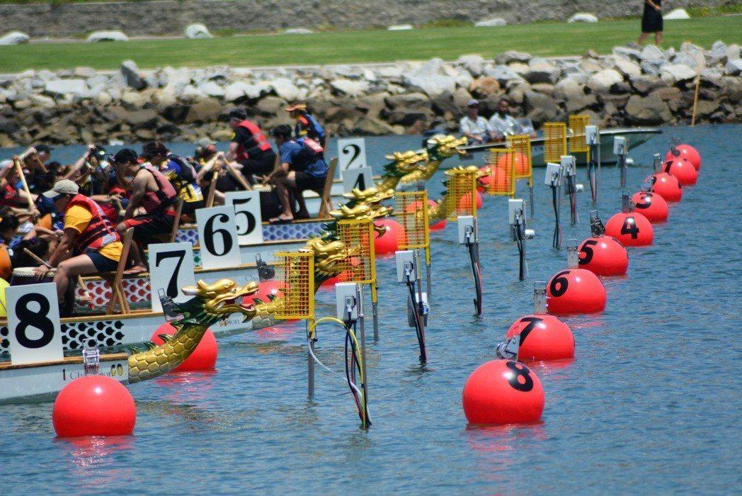 南加州的長堤每年七月都舉辦國際龍舟賽,參與隊伍超過200支,現場觀眾數萬人,加州...