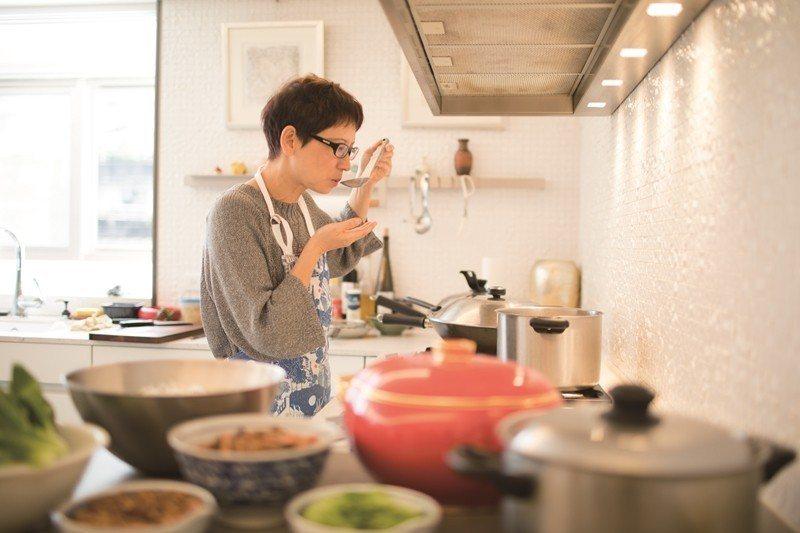 Tsai carefully adjusts every dish's tast...