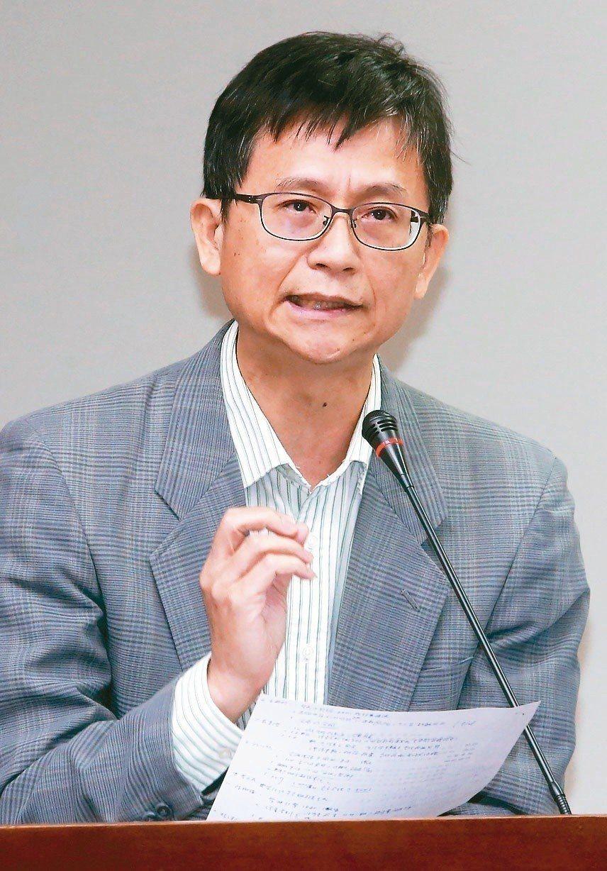 環保署副署長詹順貴。圖/本報資料照片