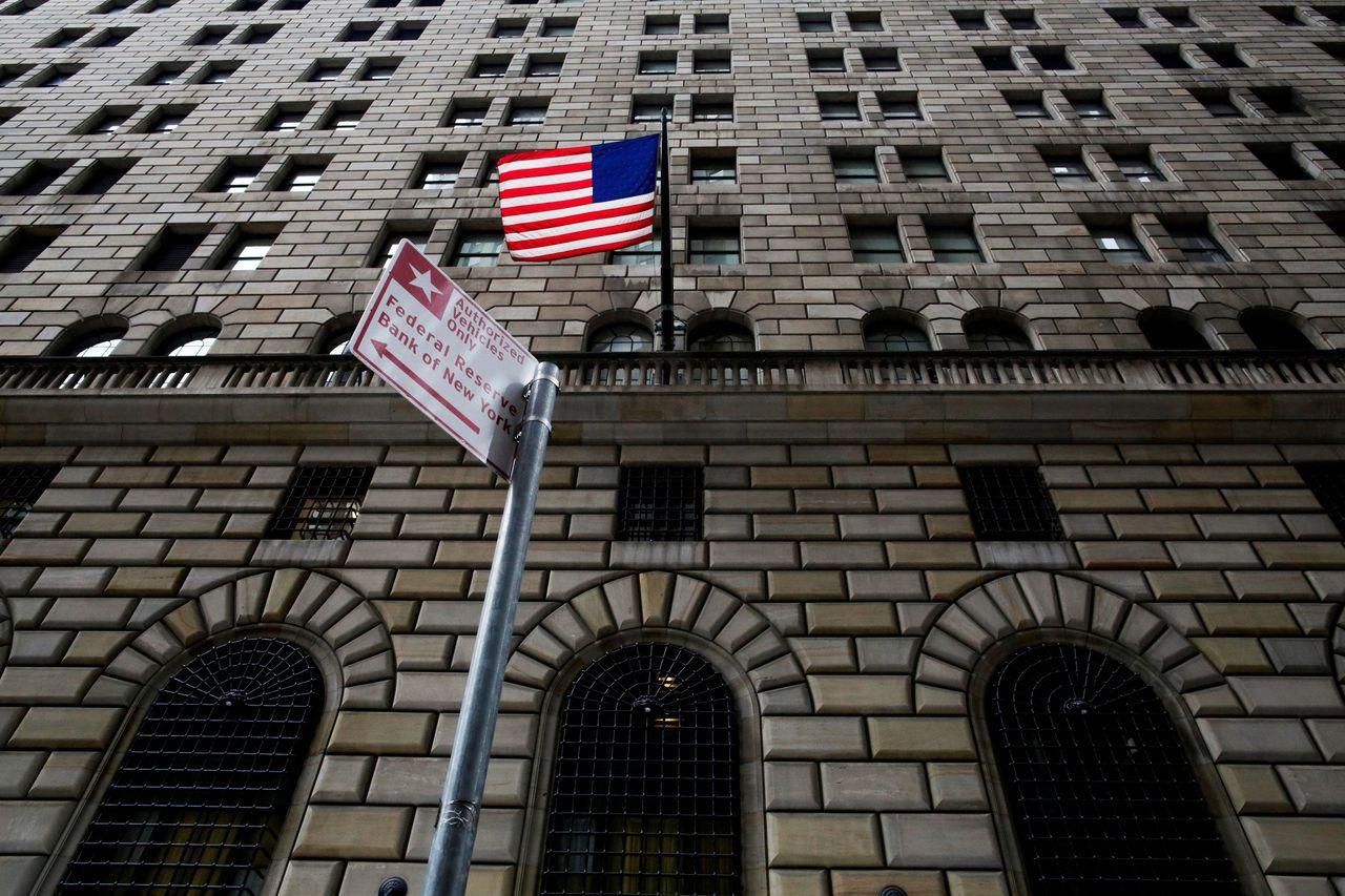 圖為紐約聯邦準備銀行。路透(聯合報資料照片)