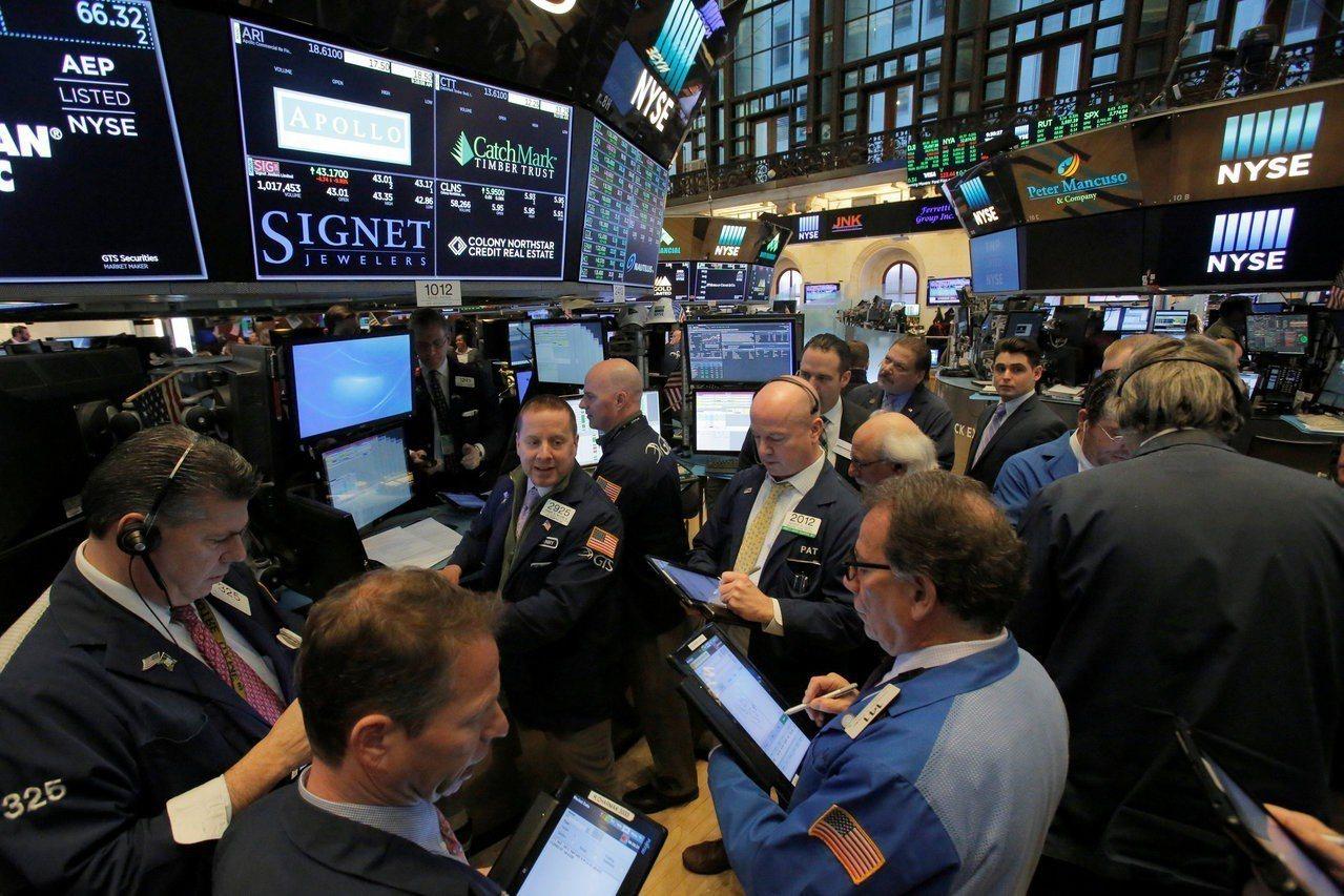 科技股周一挫跌,拖累美股三大指數全面下滑。 路透