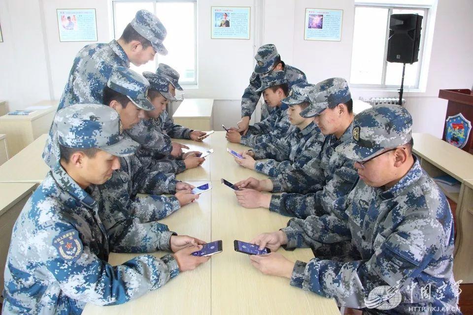 中部戰區空軍飛彈某旅的班級對戰。中國空軍