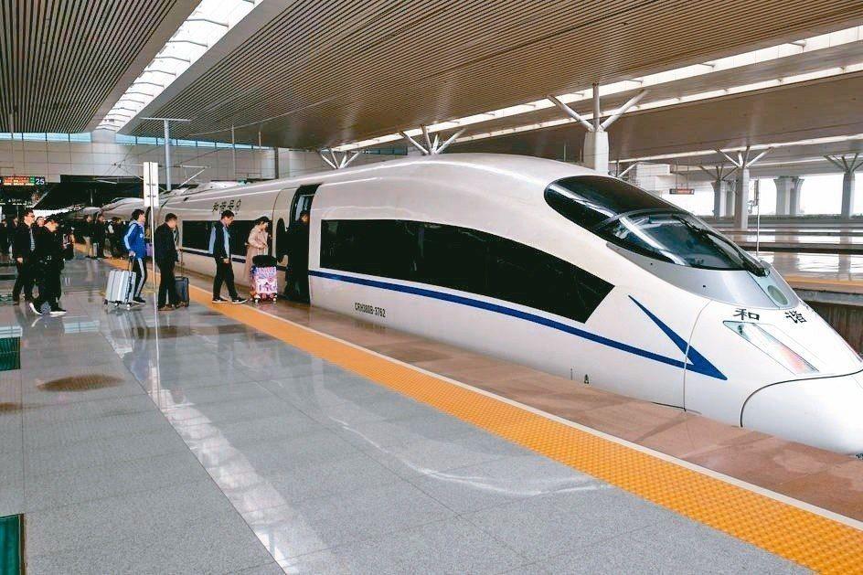 圖為河南鄭州高鐵東站。中新社