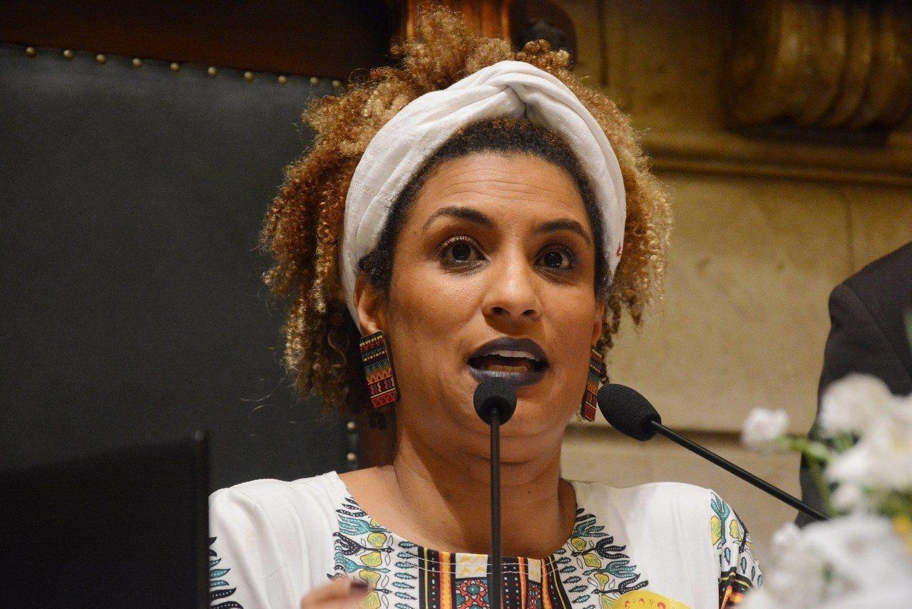 巴西里約熱內盧市黑人女市議員瑪麗耶爾.佛朗哥遭暗殺,頭部中彈四槍身亡。歐新社