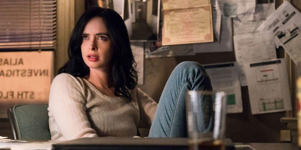 克莉絲汀瑞特在「漫威潔西卡瓊斯」第2季依然有出色表現。圖/摘自Netflix