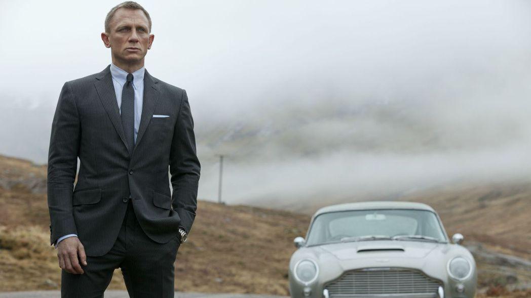 丹尼爾克雷格即將演出最後一部007電影。圖/索尼提供