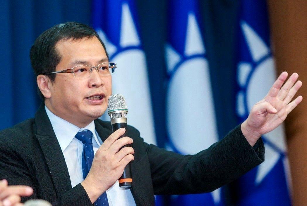 總統府前副秘書長羅智強。 聯合報系資料照