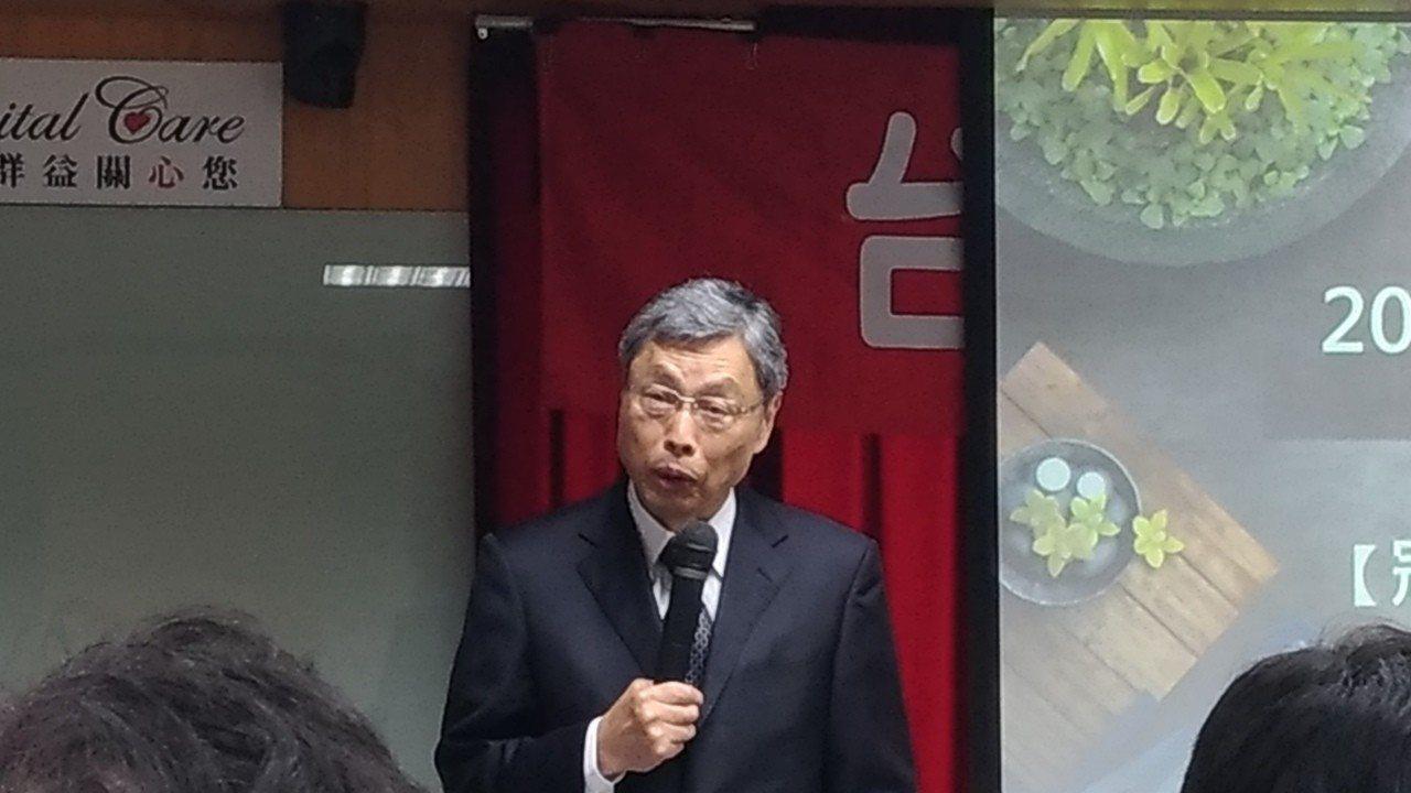 前海基會副董事長兼秘書長高孔廉。記者林宸誼╱攝影