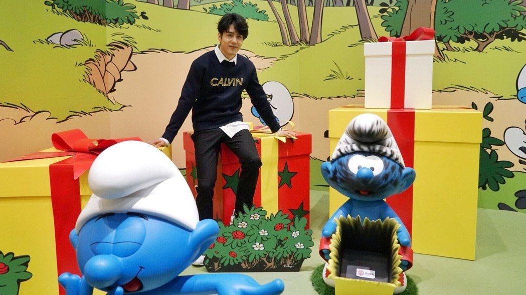 胡宇威小時候看卡通常看到入迷,相信世界上真有小精靈。圖/寬宏藝術提供