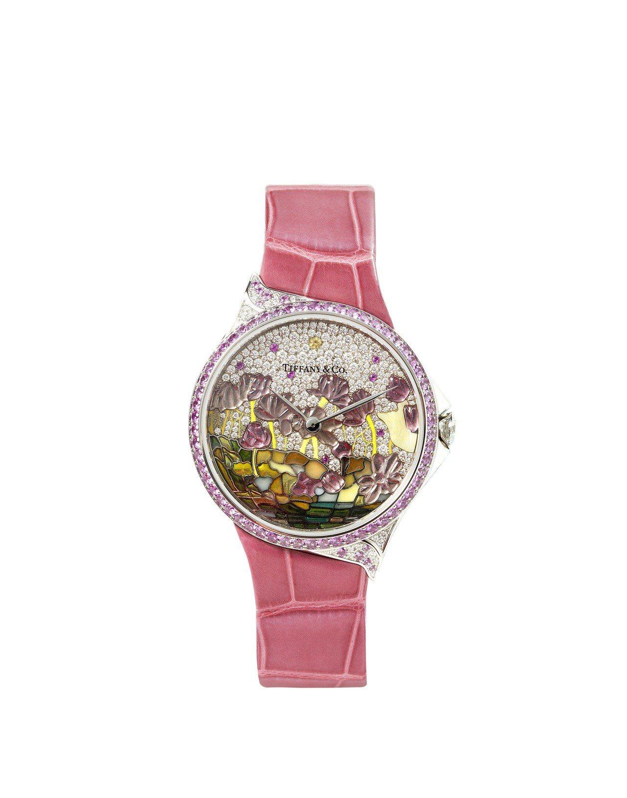 大中華地區Tiffany高級珠寶腕表系列,Tiffany Metro高級珠寶蓮花...