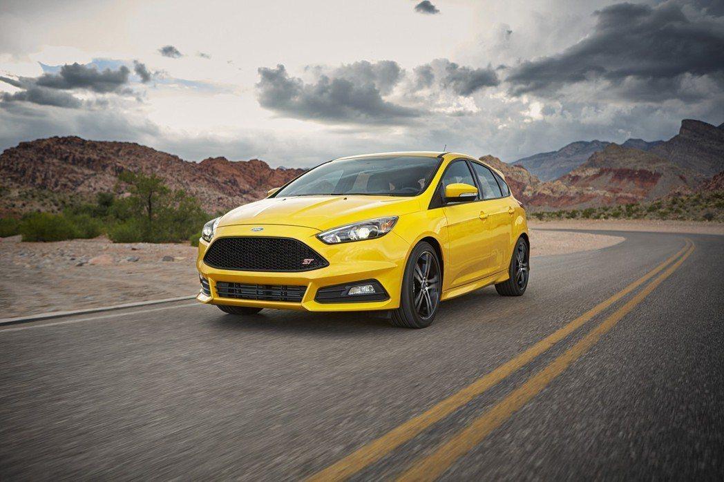 圖為現行版Ford Focus,全新世代將於四月發表。 摘自Ford