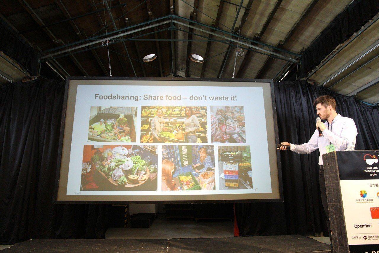 旅台德國人施特凡(Stefan Simon)發起「享食雲」專案(FoodShar...