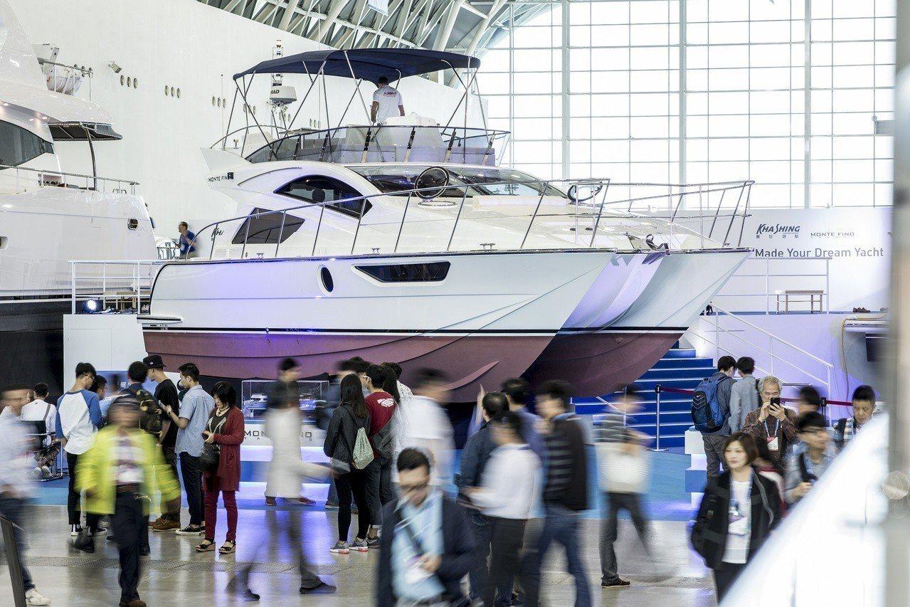 2018台灣國際遊艇展現場。 圖/貿協提供