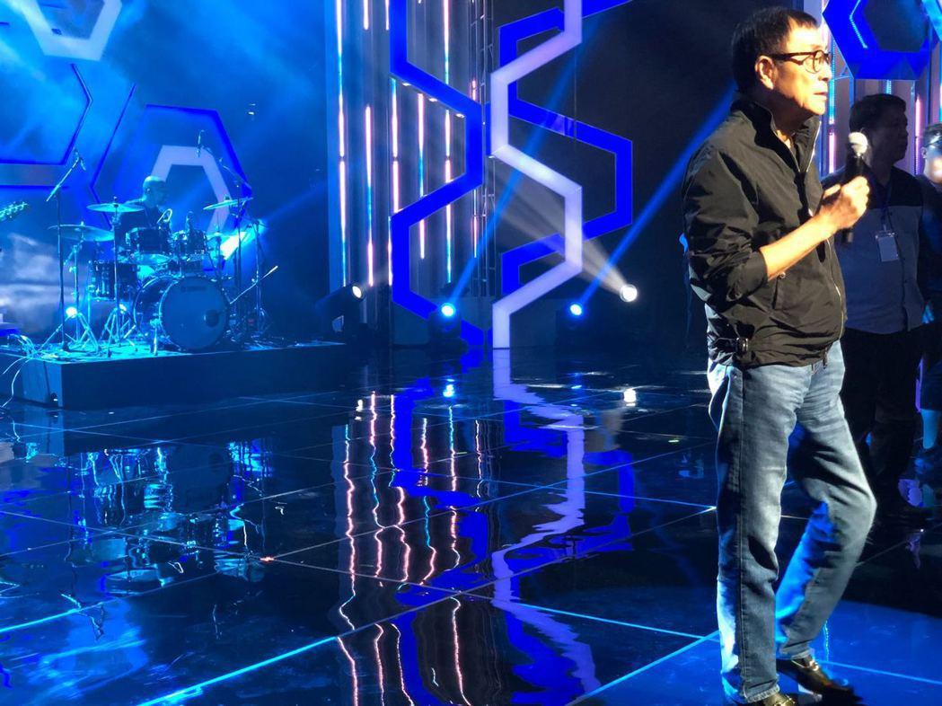 劉家昌出席新加坡公益活動。圖/彈唱人音樂製作提供