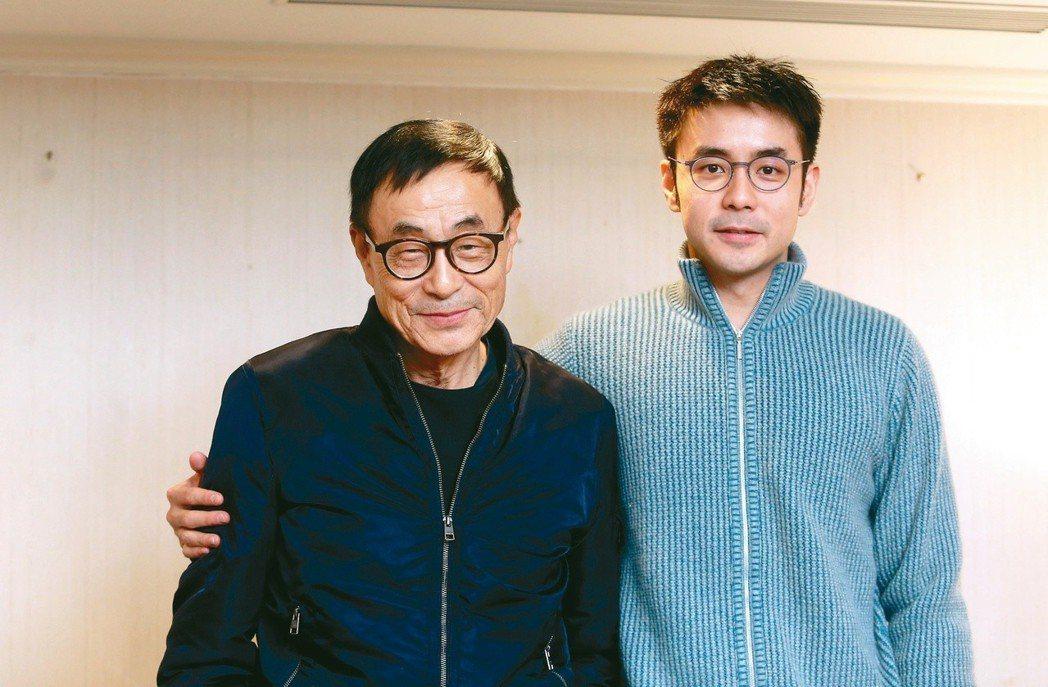 劉家昌(左)和兒子劉子千 本報資料照片