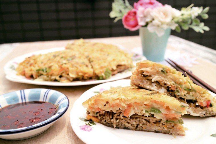 蔬菜煎餅 圖摘自╱四塊玉文創出版《大塚太太的東京餐桌故事》非