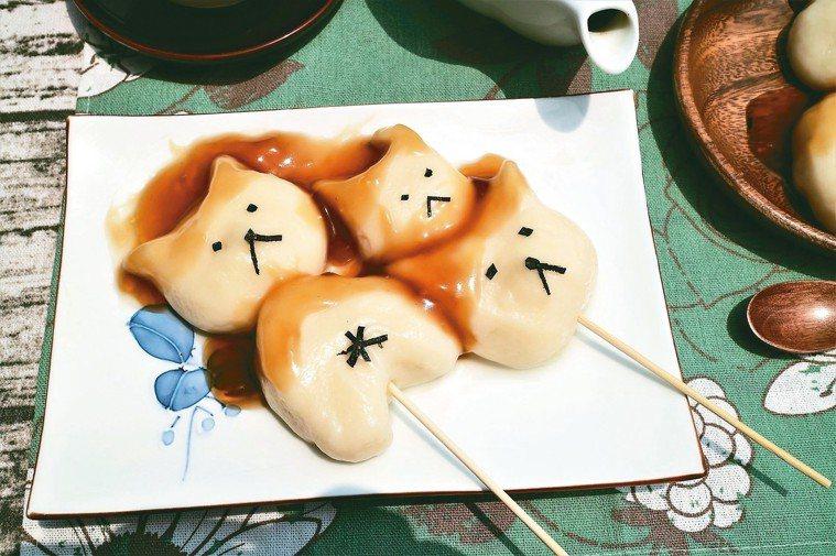 冰鎮白玉糰子 圖摘自╱四塊玉文創出版《大塚太太的東京餐桌故事》非