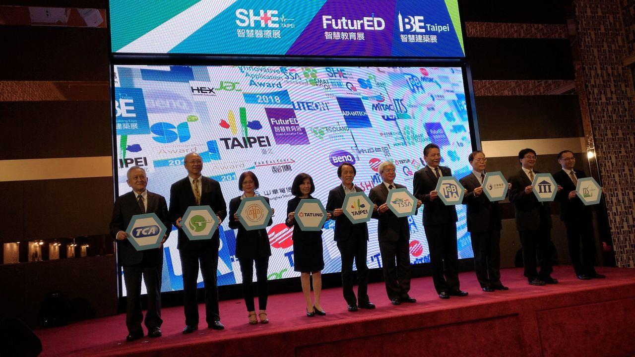 亞洲規模最大的物聯網應用展覽活動,2018智慧城市展將於27日展開。 圖/聯合報...