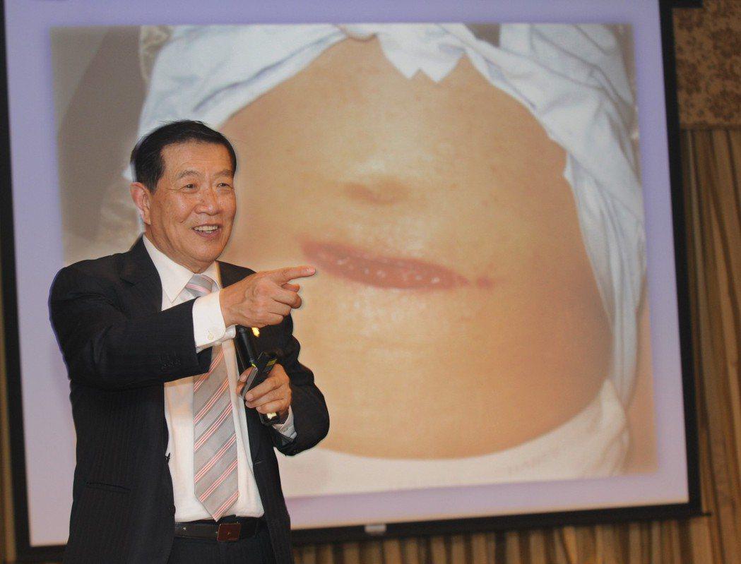 鑑定專家李昌鈺應邀講演,講述319槍擊案等案件。他曾在319案中幫助警方辦案。圖...