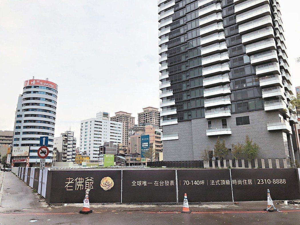 台中市近期高價新成屋與中古屋的買氣明顯回升,預售市場也升溫。 記者宋健生/攝影