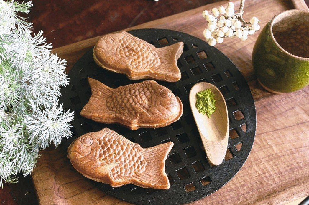 抹茶卡士達鯛魚燒 麥田出版/提供