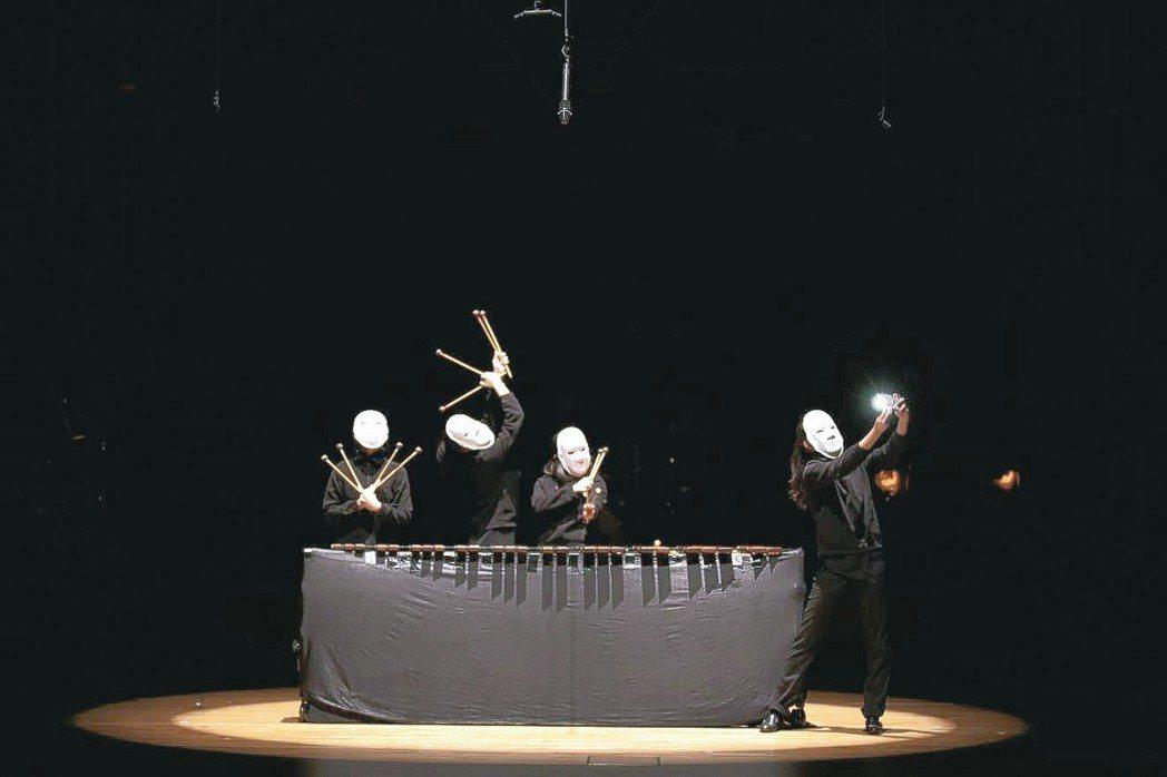朱宗慶打擊樂團〈火星部落〉演出畫面。 圖/朱團提供