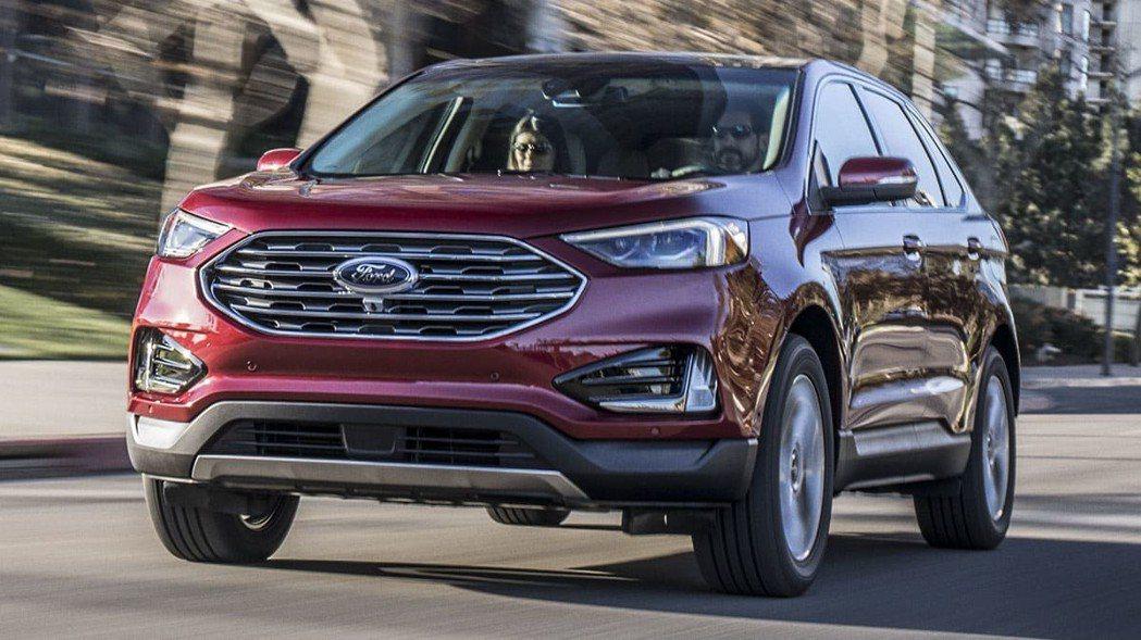 Ford Edge為品牌旗下中大型SUV。 摘自Ford