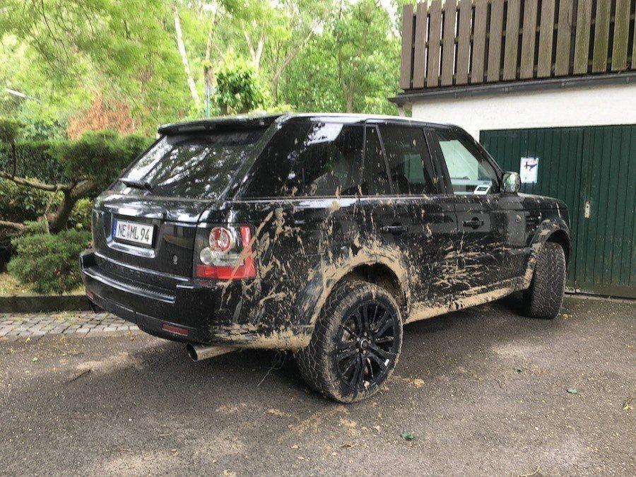 極具越野性格的Range Rover。 攝影 / 彭奕翔