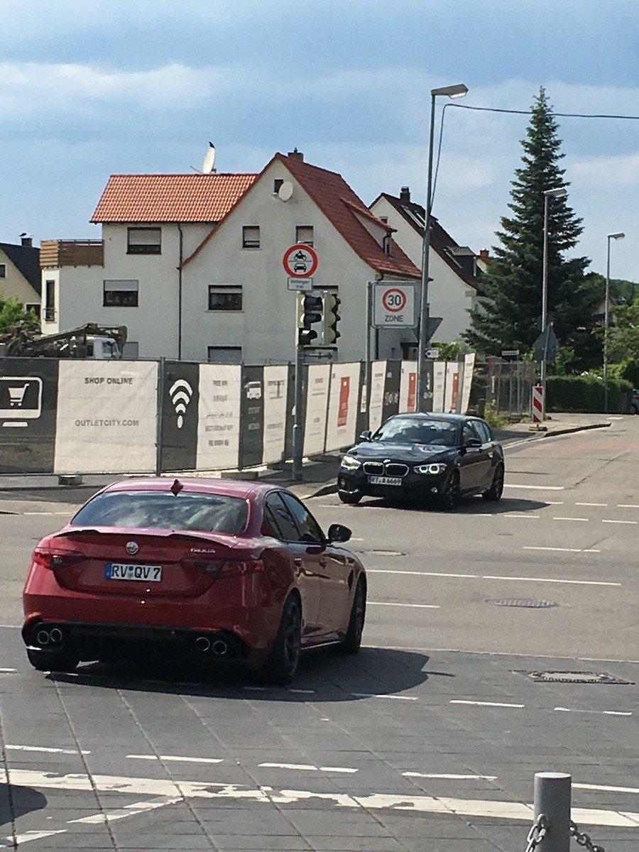 Alfa Romeo Giulia QV。 攝影 / 彭奕翔