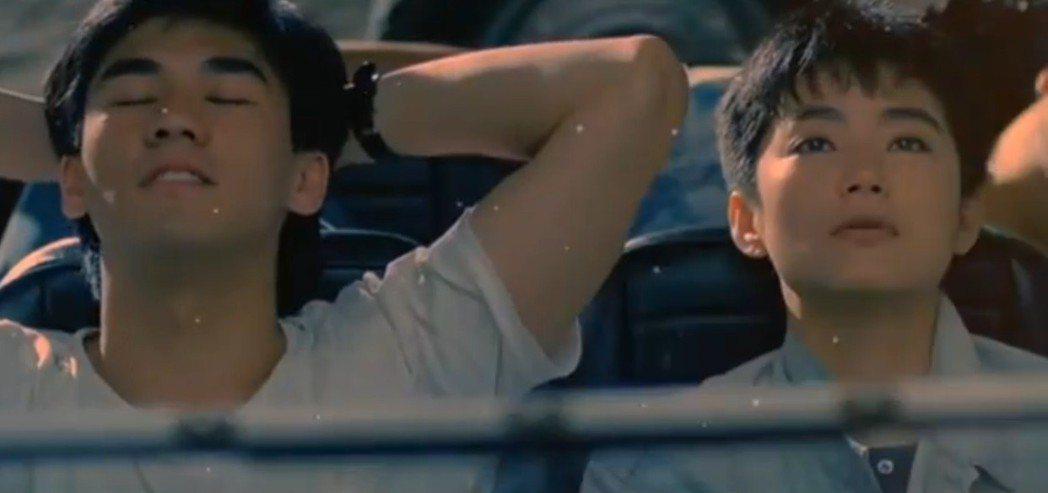 林青霞在「今夜星光燦爛」扮演的女主角出社會多年後和吳大維談姊弟戀。圖/翻攝自Yo...