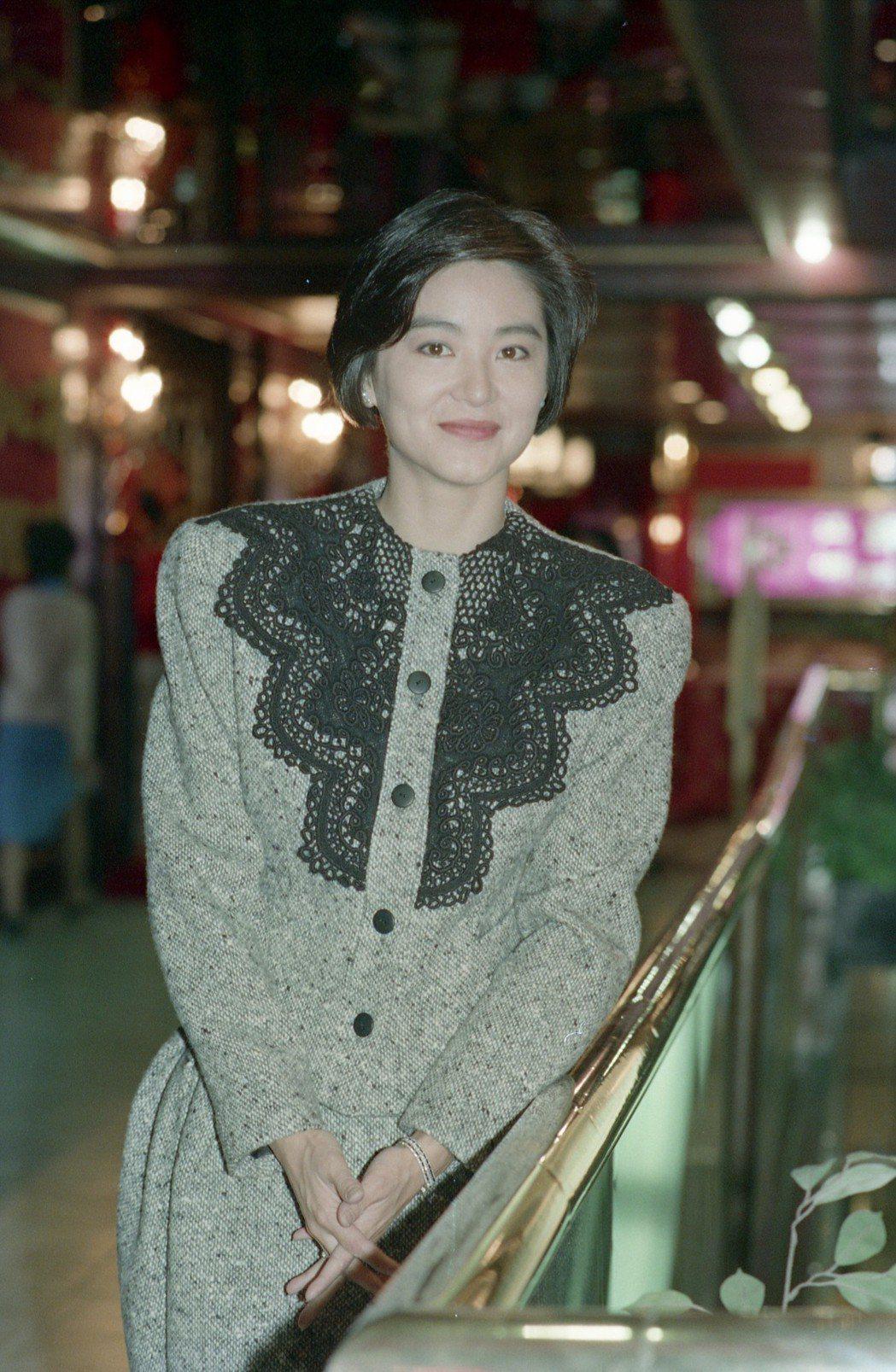 林青霞是華人娛樂圈女遠的女神。圖/報系資料照片