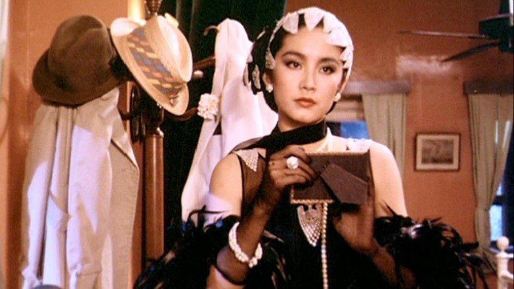 「我愛夜來香」中林青霞扮演美豔女間諜。圖/翻攝自YouTube