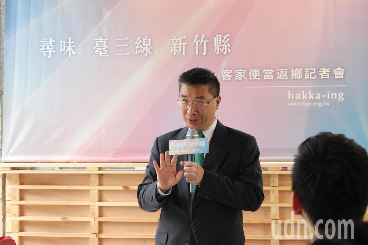 行政院長發言人徐國勇。聯合報系記者張雅婷/攝影