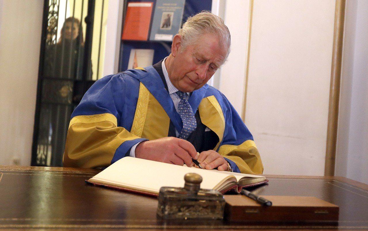英國王儲查理王子。美聯社