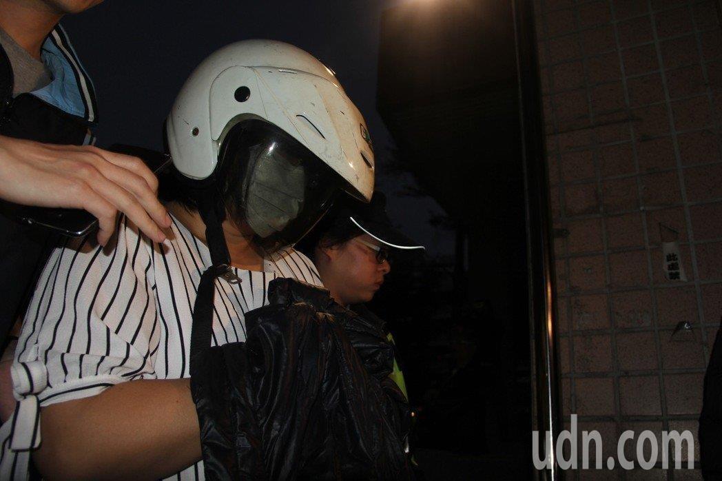 水泥封屍命案,法院將張姓嫂子收押禁見。記者陳俊智/攝影