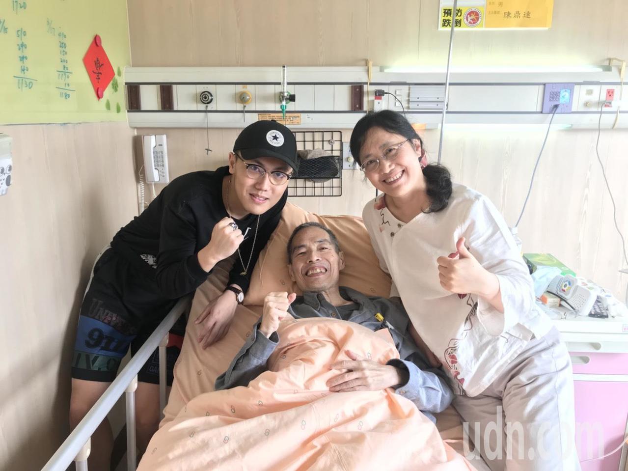 鄒川雄目前住在嘉基的安寧病房,妻子、兒子全心陪伴,親情與信仰是鄒老師內心最大力量...
