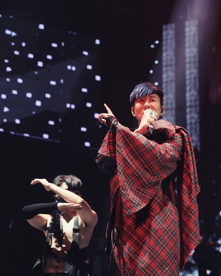 林俊傑傳出上海演唱會結束軟癱。圖/摘自臉書