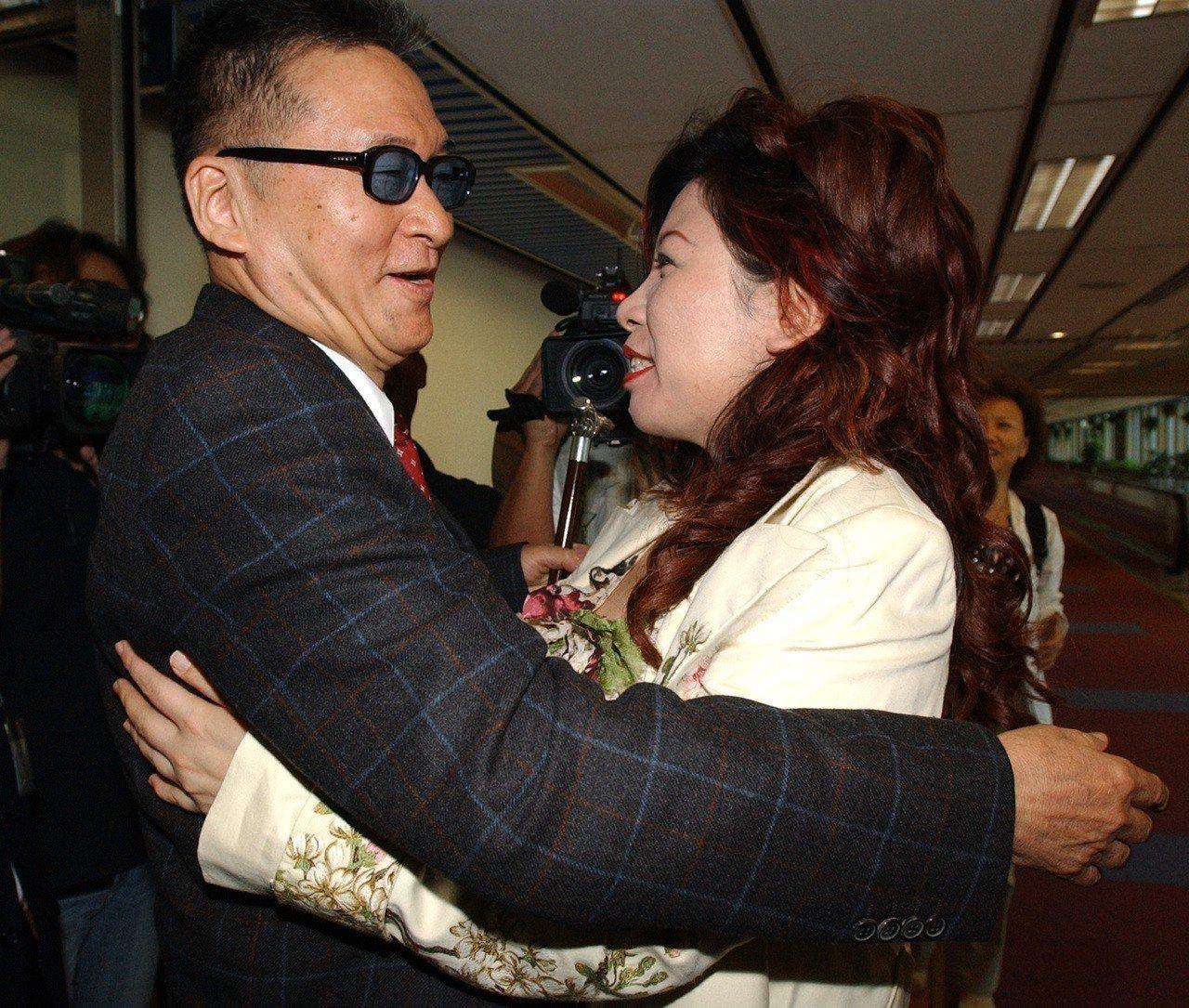 李敖與陳文茜相交四十年。 圖/聯合報系資料照片